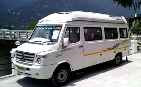 Dehradun Airport Tempo Traveller from Haridwar